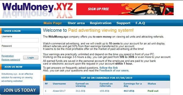 Wdumoney.xyz Reviews