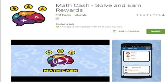Math Cash App Review