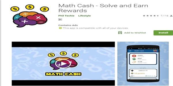 Math Cash App Review