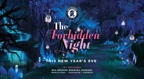 The Forbidden Night At BYG Brewski, Bangalore