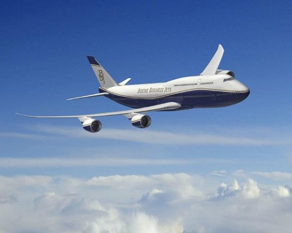 Boeing 747-81 VIP – Joseph Lau