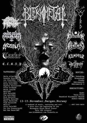 blekkmetal festival poster