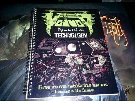 Voivod Killing Technology tabs