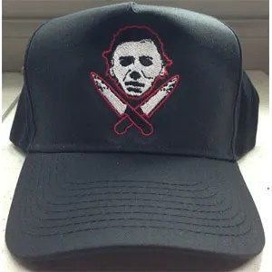 Halloween Michael Myer Knives Baseball Cap
