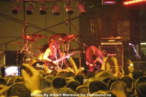 Gorguts photo by Albert Mansour