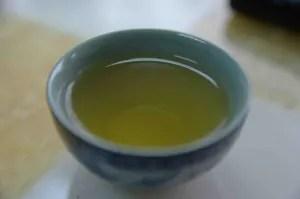 green (heavy metal) tea