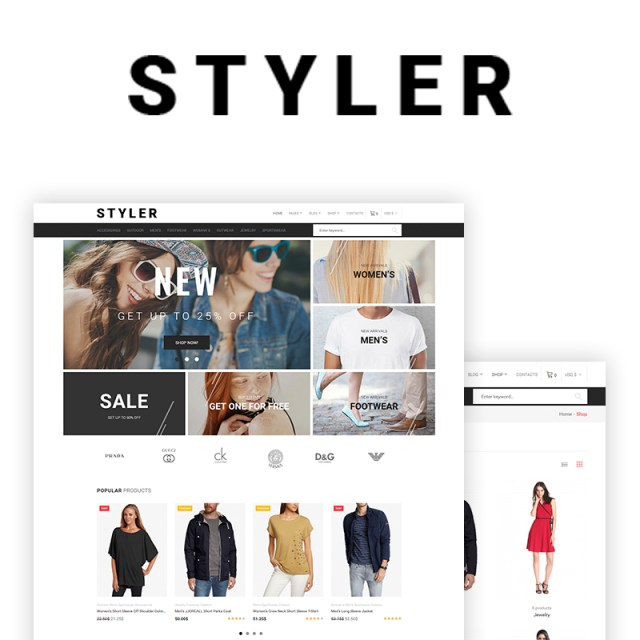 Styler - Fashion WooCommerce Theme