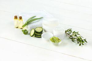 Mascarilla casera de pepino y vitamina E