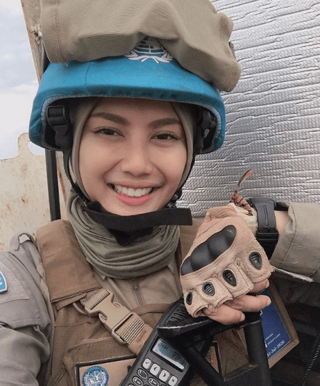 %name Viral, Brigadier Imah Beautiful Policewoman Looks Like Indonesian Artist Pevita Pearce