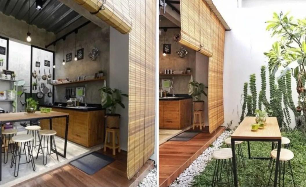 desain dapur minimalis terbuka 8 Ide Dapur Minimalis Untuk Hunian Anda