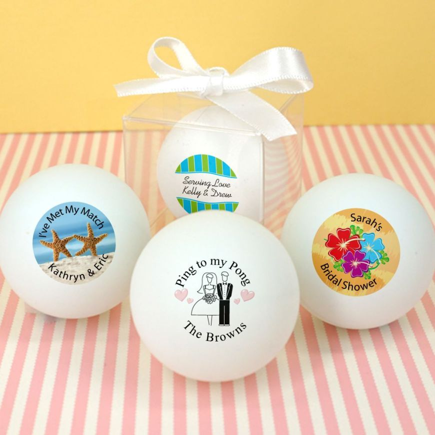 1877000--Wedding Ping Pong Ball Favors