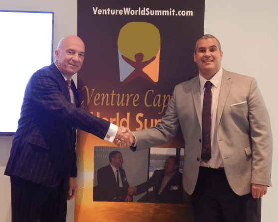Venture Capital World Summit, Lindsay Hugh Doyle and Elio Assuncao