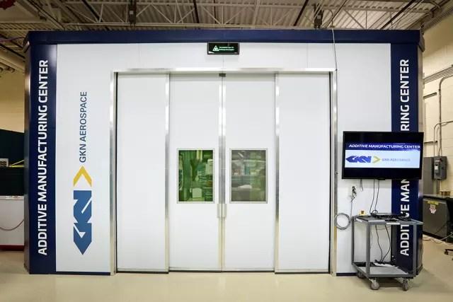 GKN's laser wire deposition system. (Image courtesy of GKN.)