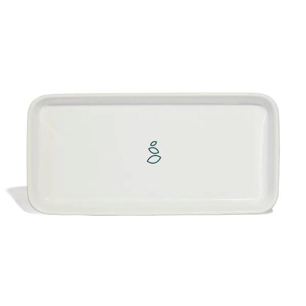 ceramic sink side tray