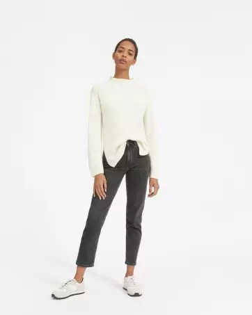 The Cashmere Rib Mockneck - Everlane
