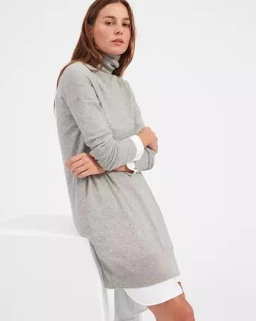 The Cashmere Turtleneck Dress - Everlane