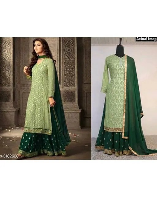Attractive-Trendy-Faux-Georgette-Suits-&-Dress-Materials3