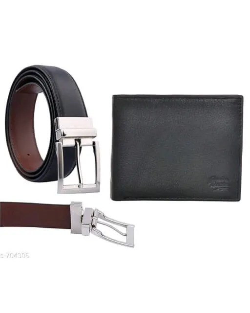 Stylish Men's Leather Reversible Belts With Wallet web Vol 2 (1)