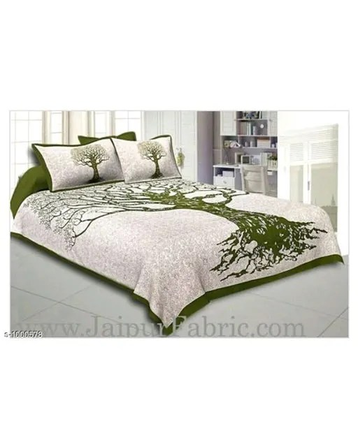 Imperial Comfortable Cotton Printed Double Bedsheets Vol 1 (2)