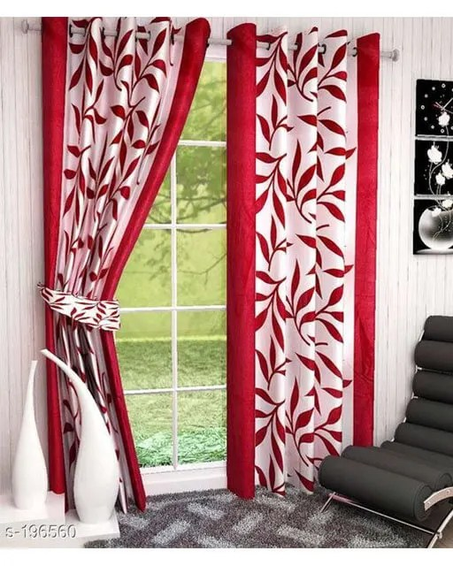 Printed Polyester Door Curtains Vol 2-4