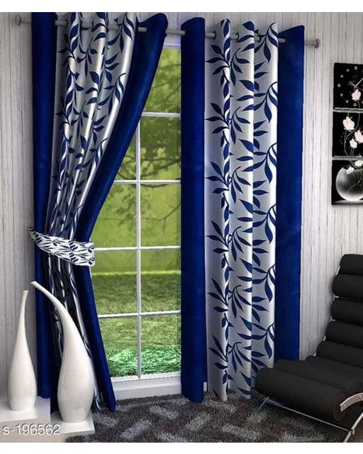 Printed Polyester Door Curtains Vol 2-1