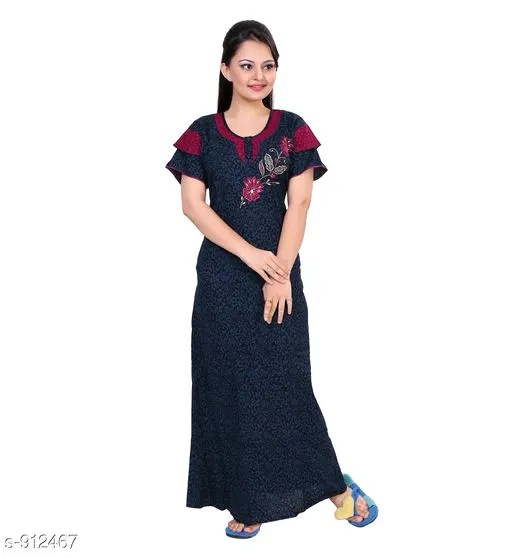 Women's Stylish Cotton Nighties Vol 13