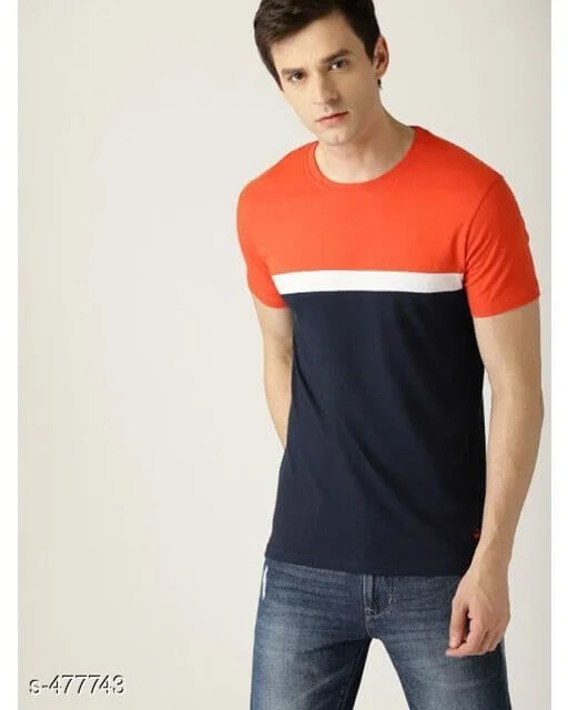 Casual Cotton Blend Mens T-Shirt web 1 (2)