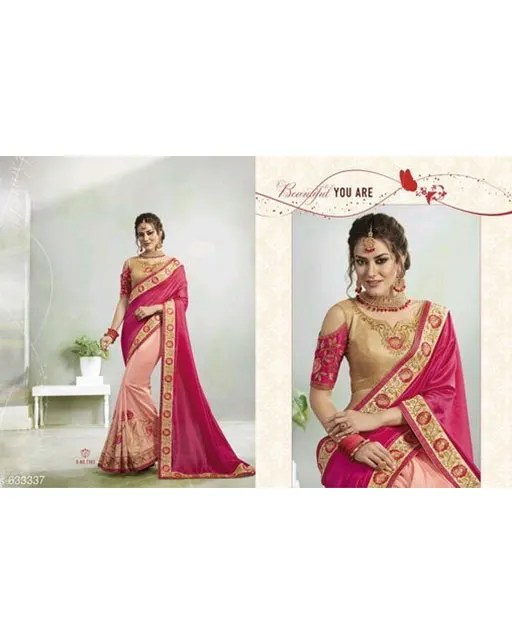 Jivika Ravishing Georgette Silk Embroidery Sarees Vol 1