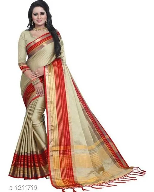 Jivika Attractive Cotton Silk Women's Sarees web (6)