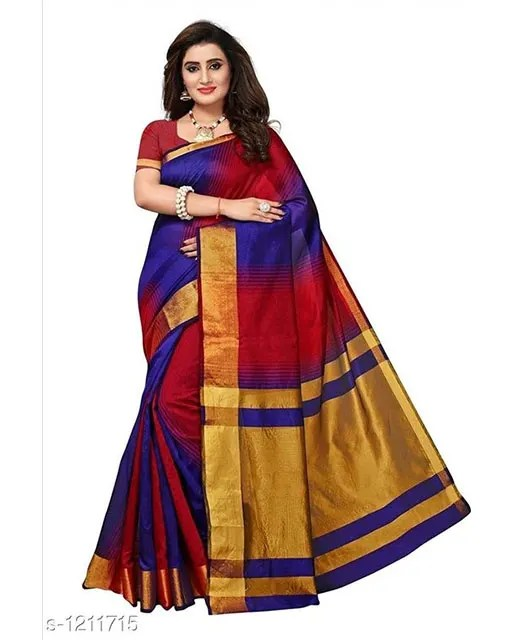 Jivika Attractive Cotton Silk Women's Sarees web (5)