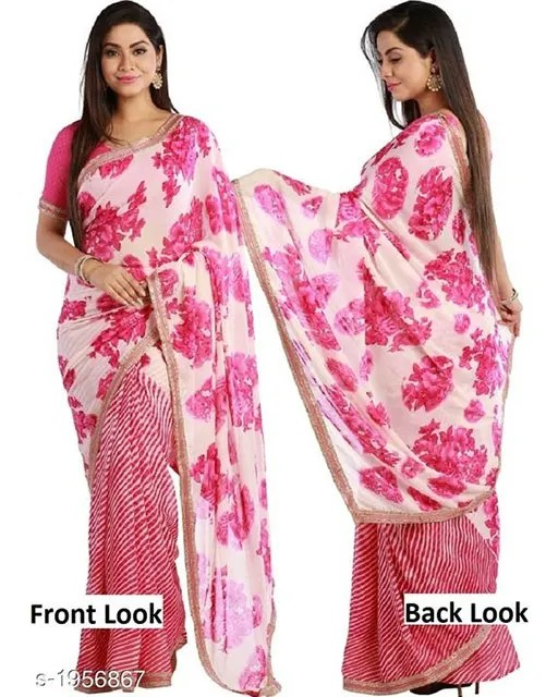 Jenita Voluminous Georgette Sarees web Vol 7 (3)
