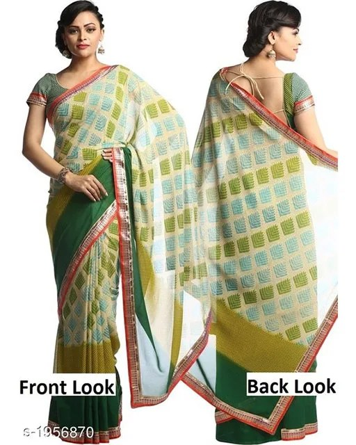 Jenita Voluminous Georgette Sarees Vol 7