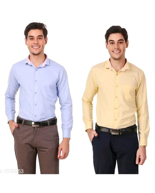 Men's Elegant Formal Shirts Combo Vol 2