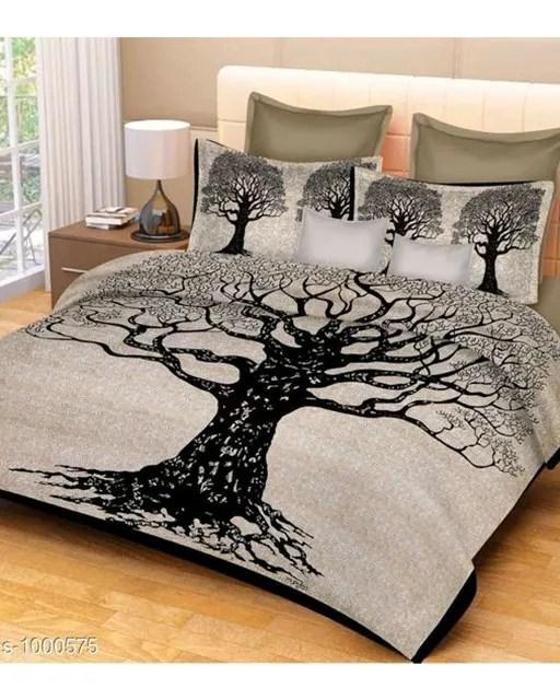 Imperial Comfortable Cotton Printed Double Bedsheets Vol 1 (1)