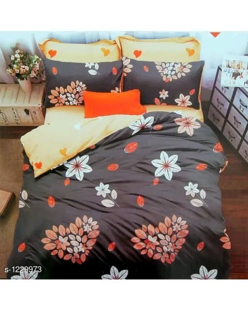 Blissful Comfort Cotton Printed Double Bedsheets Vol 16 (6)