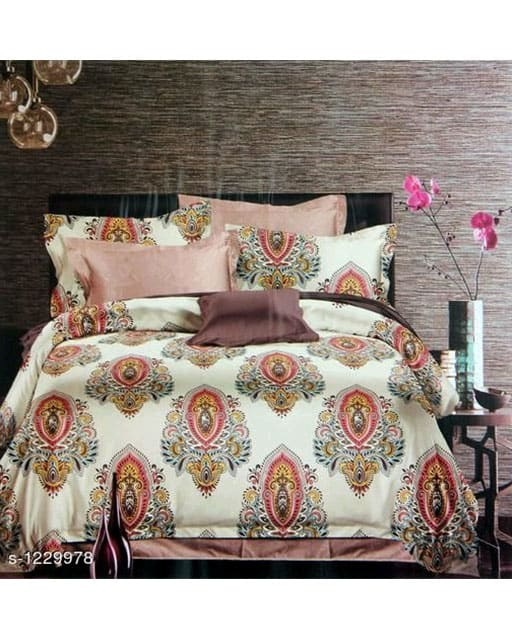 Blissful Comfort Cotton Printed Double Bedsheets Vol 16 (1)