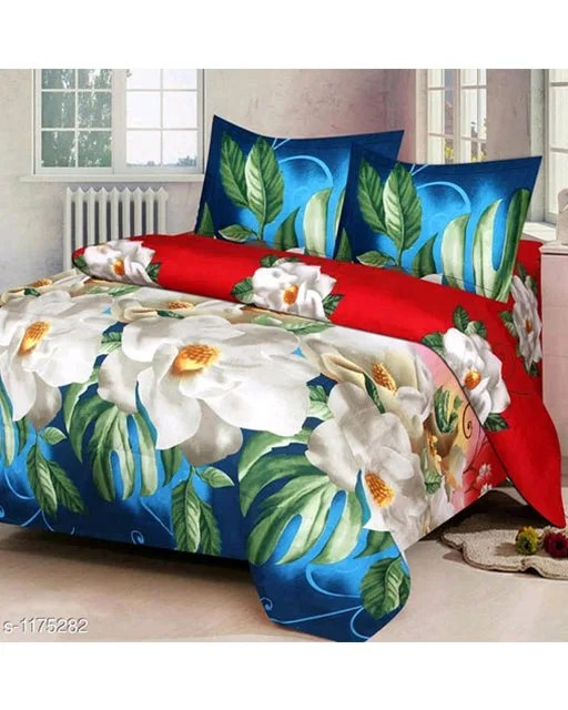 Splendor Exotic Poly Cotton Double Bedsheets Vol 3 (7)