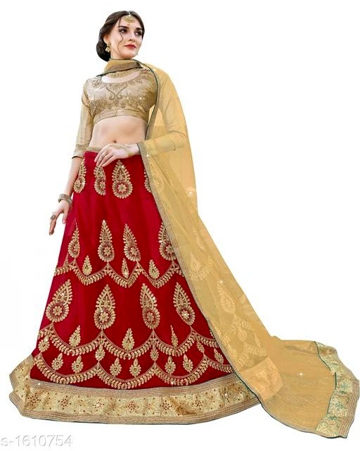 Siya Stunning Net Embroidered Women's Lehengas (3)