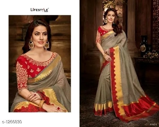 Aaryahi Attractive Silk Zari Work Women's Sarees