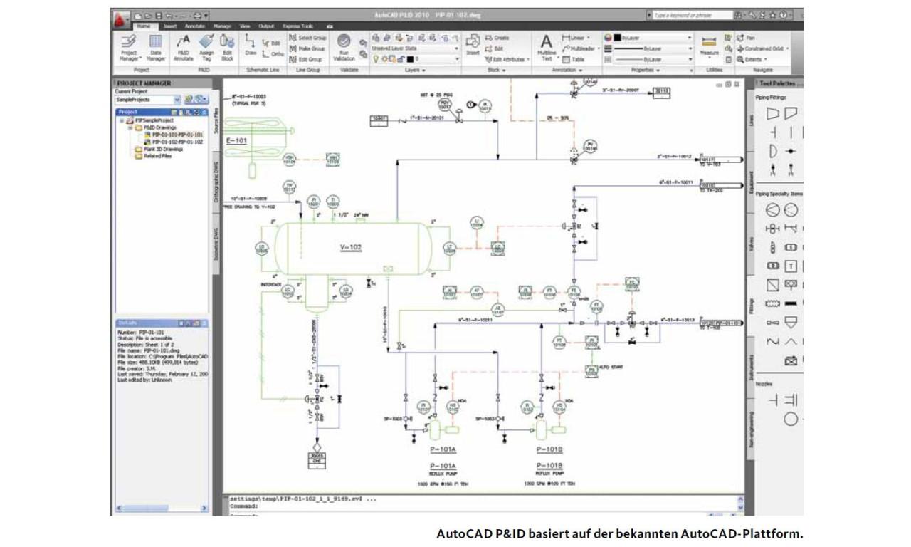Autodesk Autocad P Amp Id