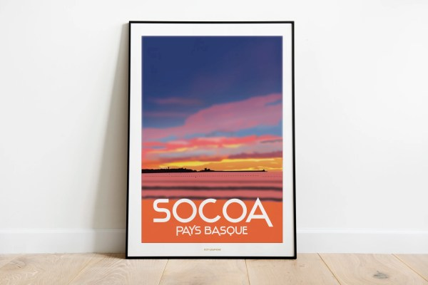 Socoa Sunset - Pays Basque
