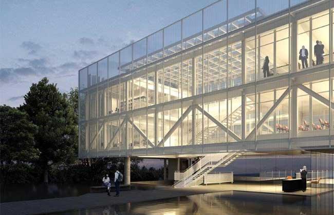 Nova sede da AEAS pelo Estúdio Módulo