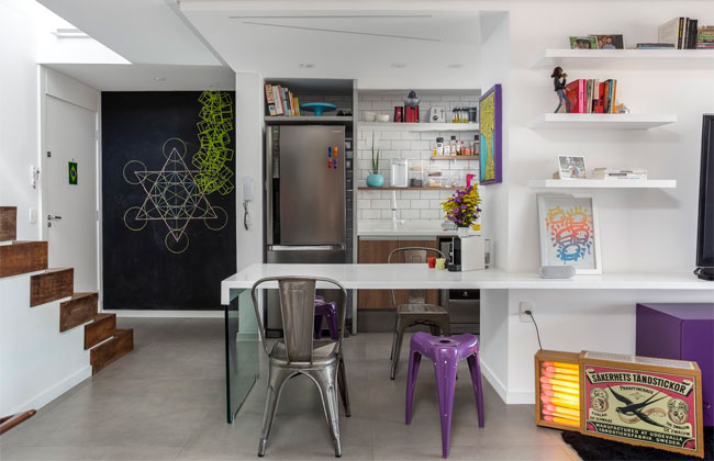 Apartamento duplex  pelo Korman