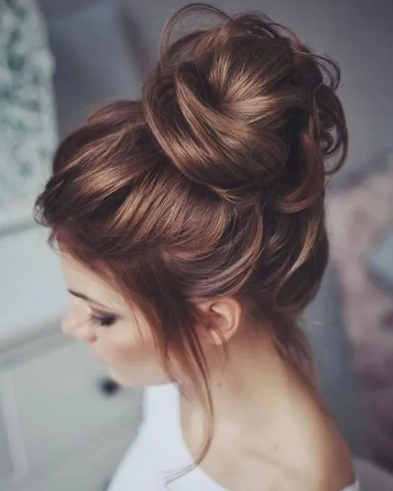 bun - hairstyles for summer