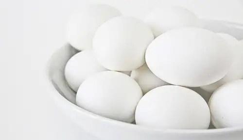 egg - acne