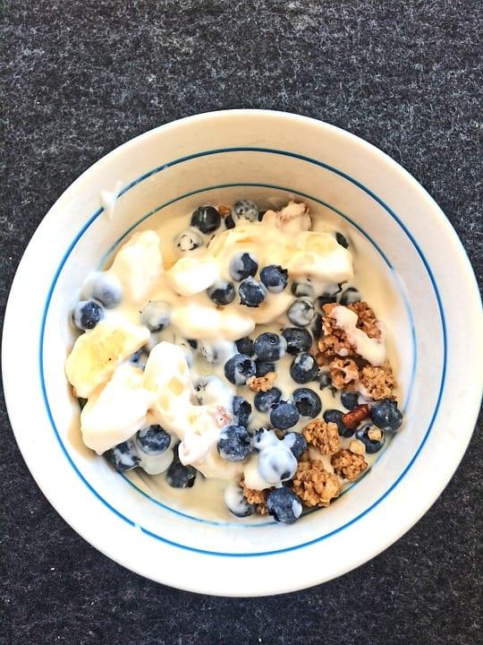 oatmeal breakfast