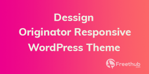 Dessign Origin Responsive wordpress theme