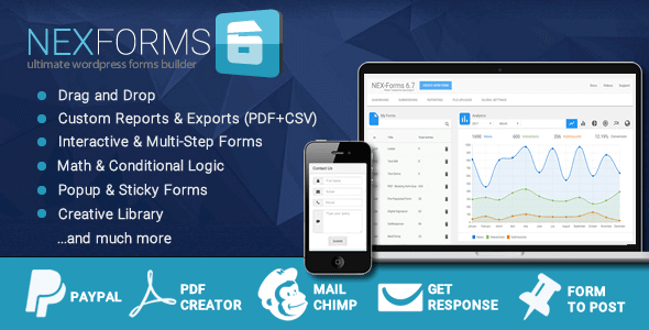 NEX-Forms – The Ultimate WordPress Form Builder Free Download Freethub