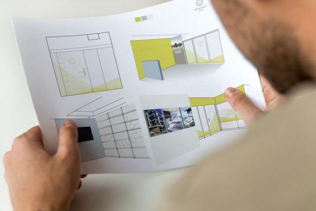 Menesse Condos - Diseño de oficina
