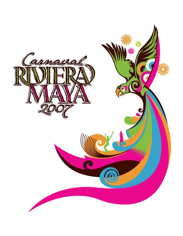 Carnaval Riviera Maya 2007 - logo